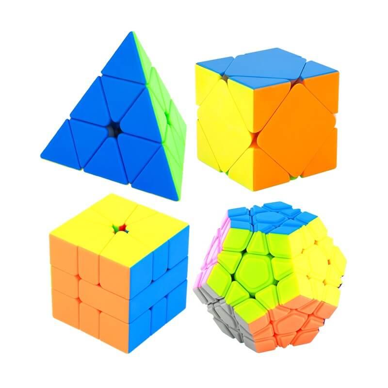 魔術方塊簡介-比賽方塊項目與紀錄影片