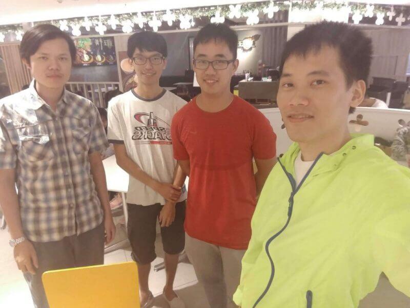 新竹魔術方塊聚會:陳文聘、劉睿鈞、林彥州、田文中