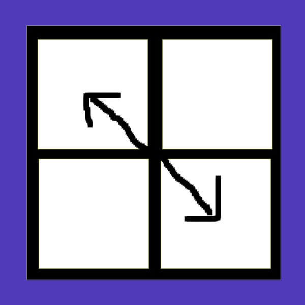 二階ortega教學二角交換