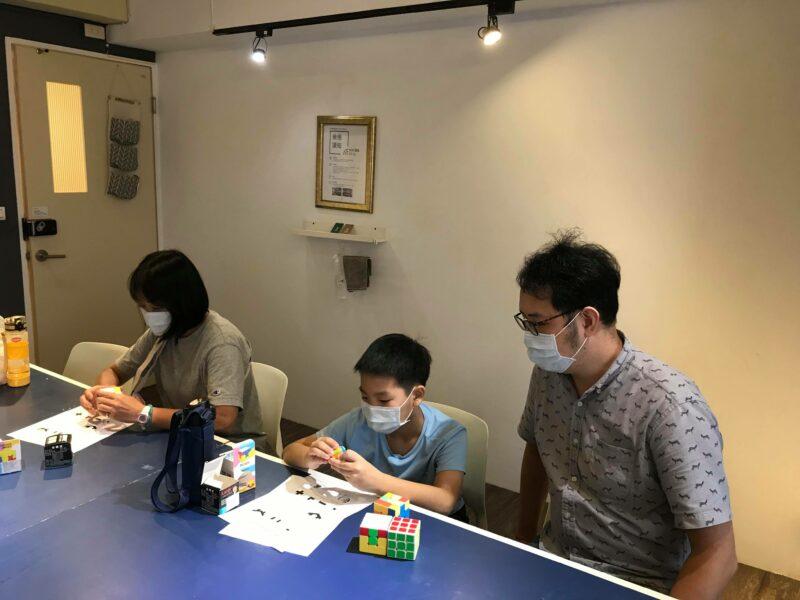 台北小樹屋三階魔術方塊課程照片