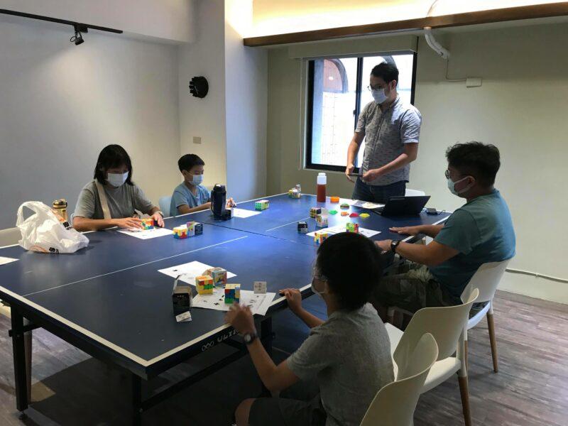 台北小樹屋三階魔術方塊團體班課程記錄  感謝魚大李育賢老師